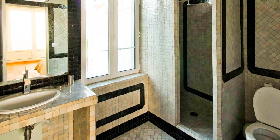 La salle de bain de l'Occident, maison de location saisonnière en Baie de Somme.