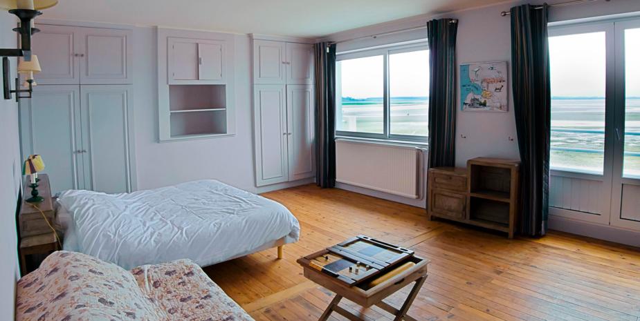 La grande chambre de l'Occident, maison de location saisonnière en Baie de Somme.