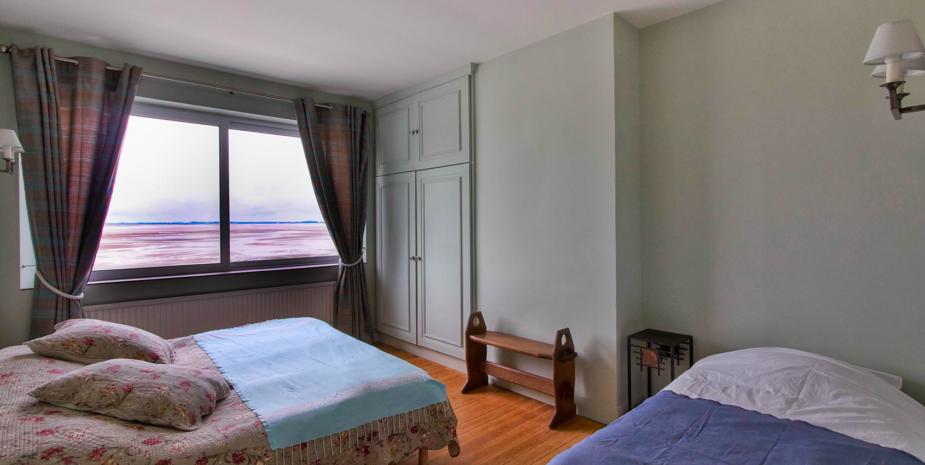 La chambre double de l'Occident, maison de location saisonnière en Baie de Somme.
