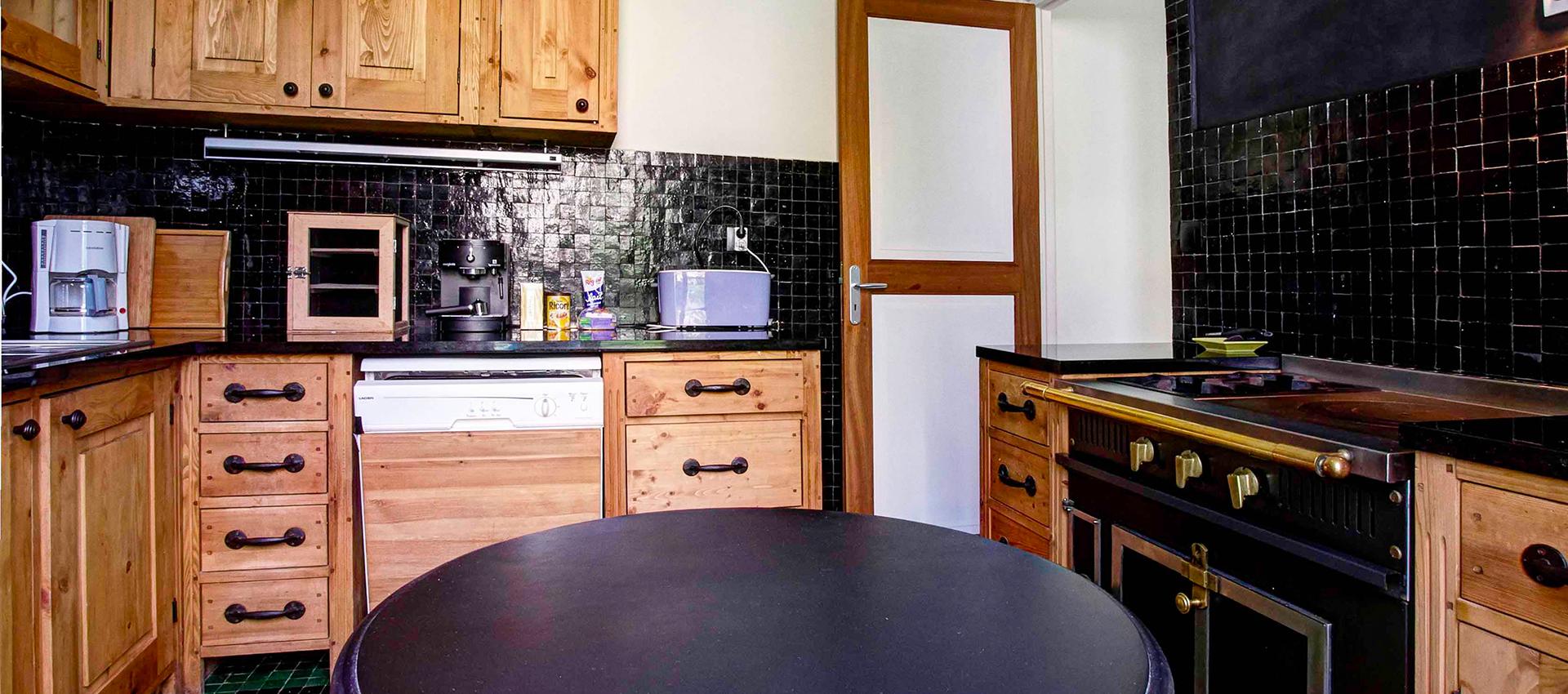 La cuisine de l'Occident, maison de location saisonnière en Baie de Somme.