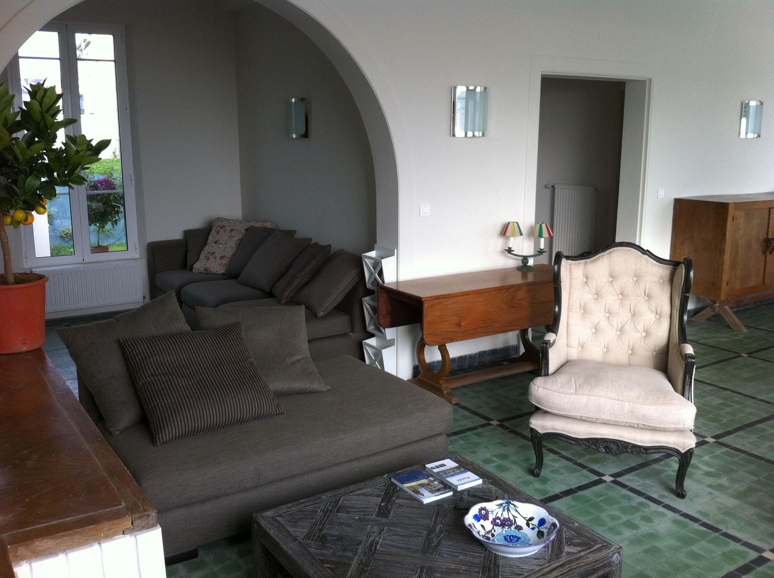 Le salon de loccident maison de location saisonnière en baie de somme