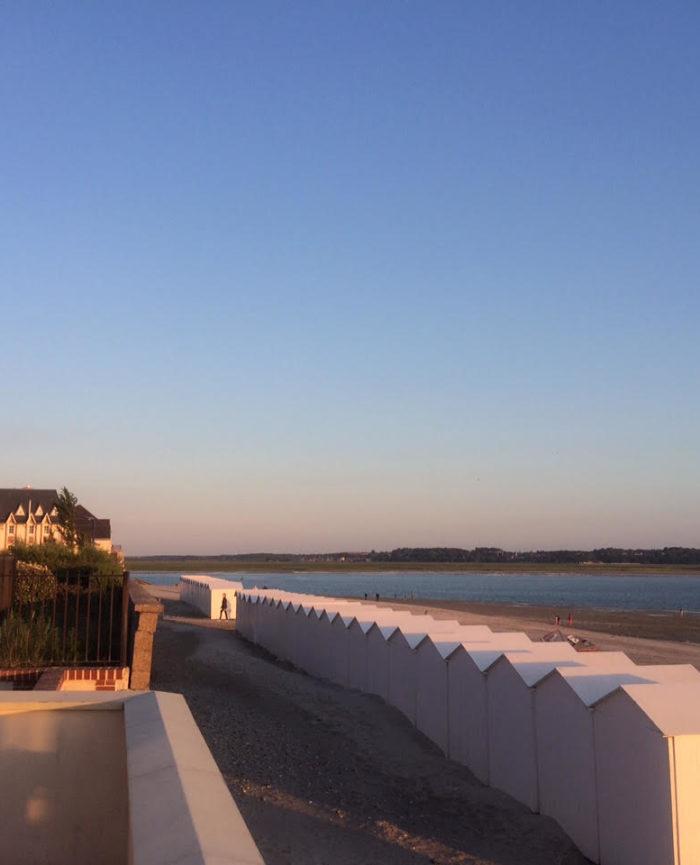 Vue de la terrasse le l'Occident, maison familiale de location de vacances en Baie de Somme