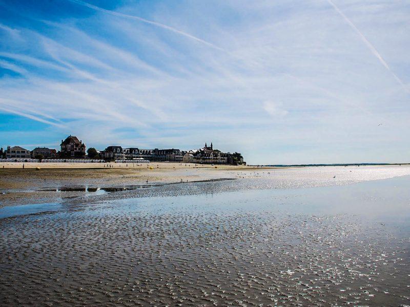 Vue de la mer de l'Occident, maison de location saisonnière en Baie de Somme